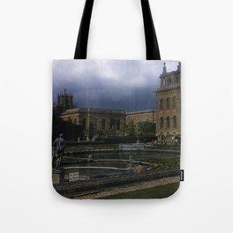 Blenheim Palace * 1950's * Vintage England Photo * Kodachrome * Color * Travel Photography Tote Bag