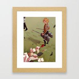 Histori Framed Art Print