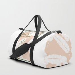 Be Nice #society6 #motivational Duffle Bag