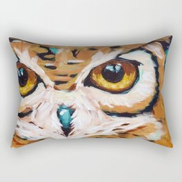Hunter's Stare Rectangular Pillow