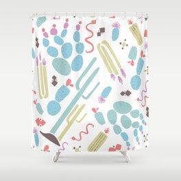 Desert Print Shower Curtain