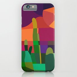 Botanical Wonderland - Cactus Garden Bybrije iPhone Case