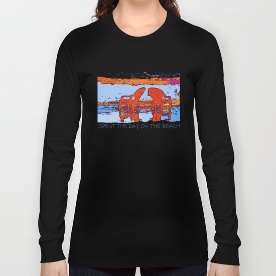A day on the beach Long Sleeve T-shirt