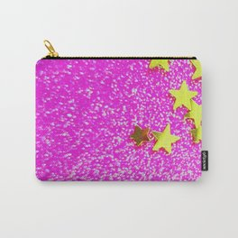 Glitter Stars Carry-All Pouch