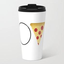 Love = Pizza Travel Mug