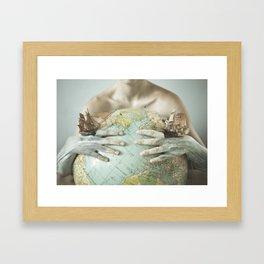 World at War  Framed Art Print