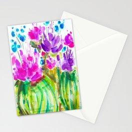 Flowerista Cactus Stationery Cards