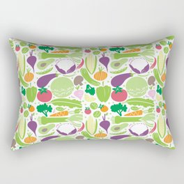 Delicious veggies Rectangular Pillow