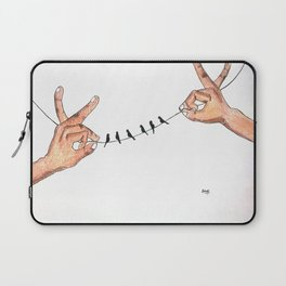 That delicate balance Laptop Sleeve