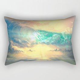 Sky Breaker Rectangular Pillow