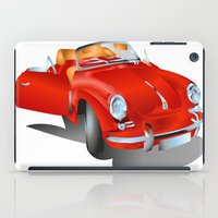 porsche iPad Cases featuring Porsche by Paola Canti