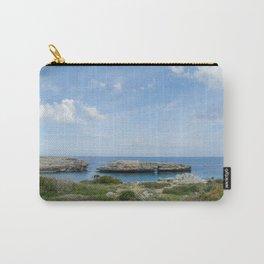Natural bridge in Alcaufar, Menorca. Carry-All Pouch