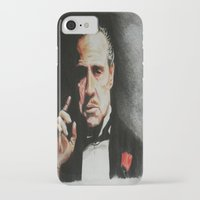 godfather iPhone & iPod Cases featuring The Godfather by Tridib Das