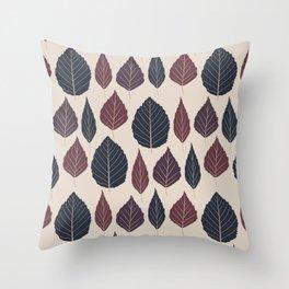 Foliage (Hibernation) Throw Pillow