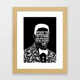 Eric Garner - Black Lives Matter - Series - Black Voices Framed Art Print