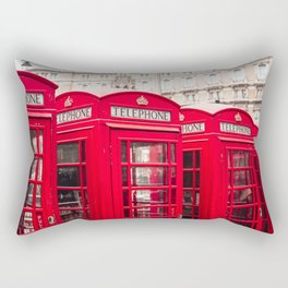 London, England Rectangular Pillow