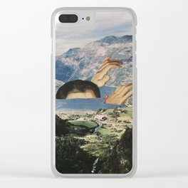 Out of Bath Clear iPhone Case