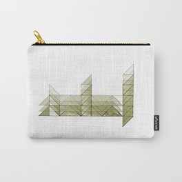 Congruence of Triangles in Light Green Carry-All Pouch