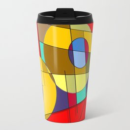 Abstract #51 Travel Mug