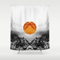 xbox Shower Curtains featuring Why down the circle by Stoian Hitrov - Sto