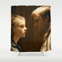drive Shower Curtains featuring Drive by LucioL