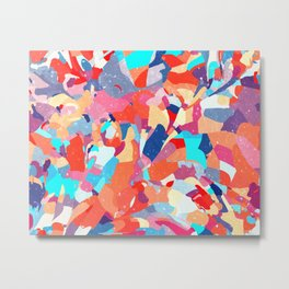 Mosaic Floor #illustration #abstract Metal Print