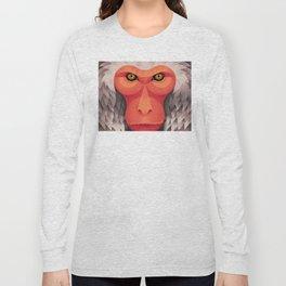 Japanese Monkey Long Sleeve T-shirt