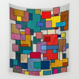Abstract #317 Wall Tapestry
