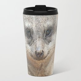 CArt Meerkat Travel Mug