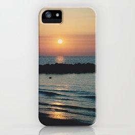 Sunset Ocean Bliss #1 #nature #art #society6 iPhone Case