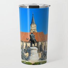 cluj napoca church Travel Mug