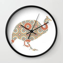 TURKEY SILHOUETTE WITH PATTERN Wall Clock