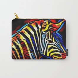RainbowZebra Glow Carry-All Pouch