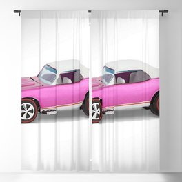 Hot Wheels Pink Party 427 SS Pony Car 67 Redline with white hardtop Blackout Curtain