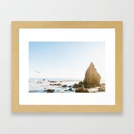 El Matador Beach 1 Framed Art Print