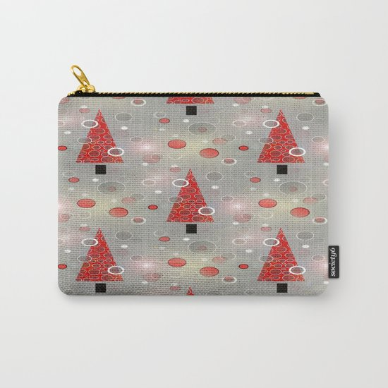 Holiday Snow Fall Carry-All Pouch