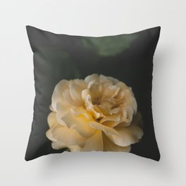 Roses (double exposure) Throw Pillow
