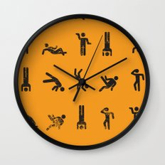 Breakit Wall Clock