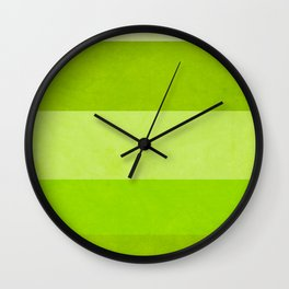 A Greenery World is Possible Wall Clock
