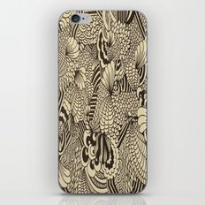 Doodles and Swirls II iPhone & iPod Skin