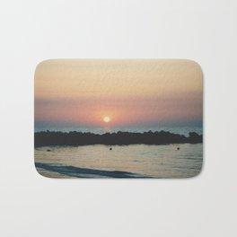 Sunset Ocean Bliss #3 #nature #art #society6 Bath Mat