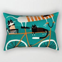 BIKE JOURNEY Rectangular Pillow