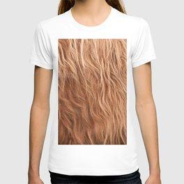 Highland Cow Fur #1 #animal #fur #decor #art #society6 T-shirt