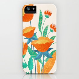 Summer Flowers I iPhone Case