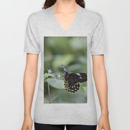 Female Birdwing Butterfly Unisex V-Neck