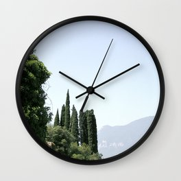 Italian landscape Wall Clock