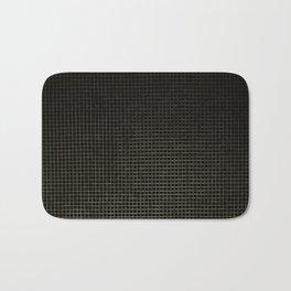Black & Gold Tiles Bath Mat