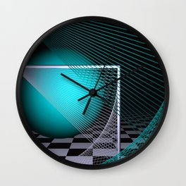 experiments on geometry -14- Wall Clock