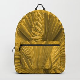Palm Leaves: Golden Hues Backpack