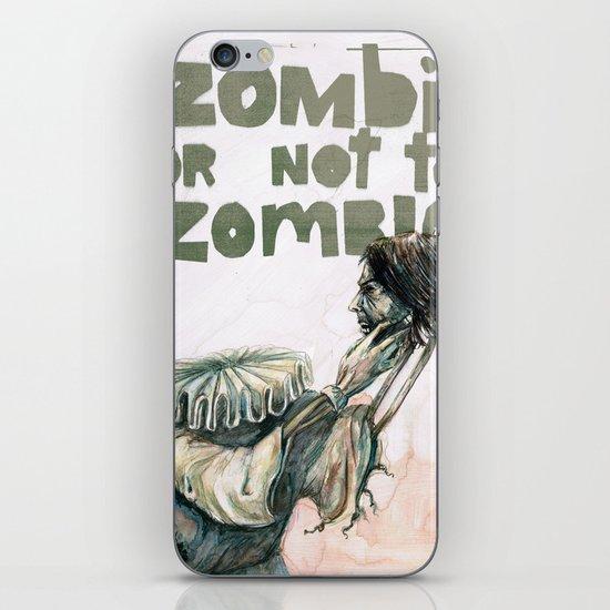Zombie + Shakespeare iPhone & iPod Skin